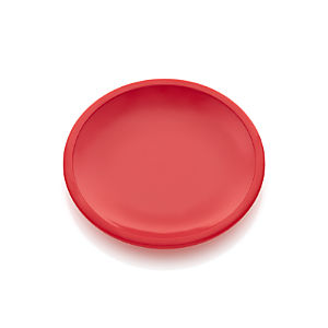 Lunea Melamine Red Appetizer Plate