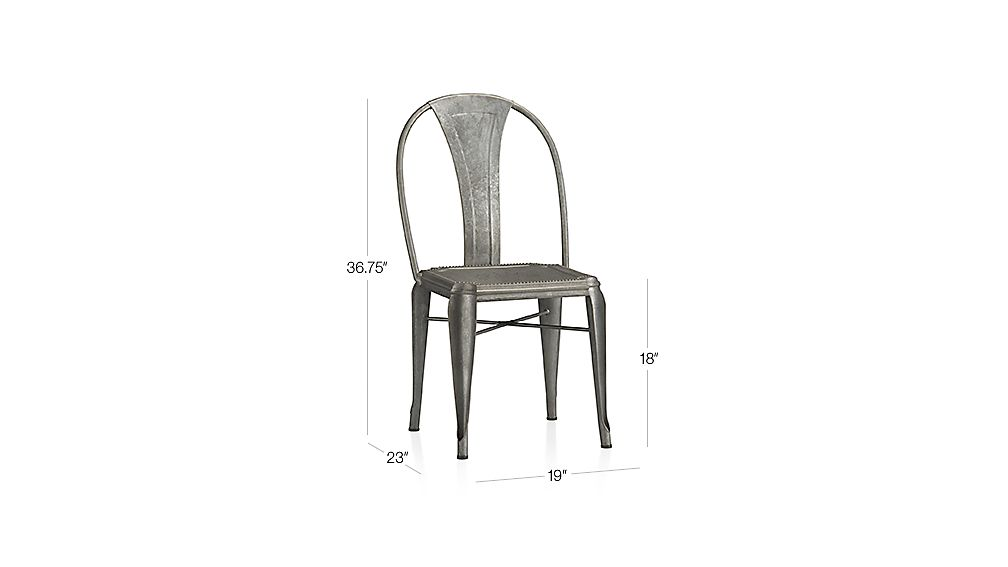 Lyle Side Chair Dimensions