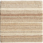 Lynx Natural Striped Wool Rug Swatch.