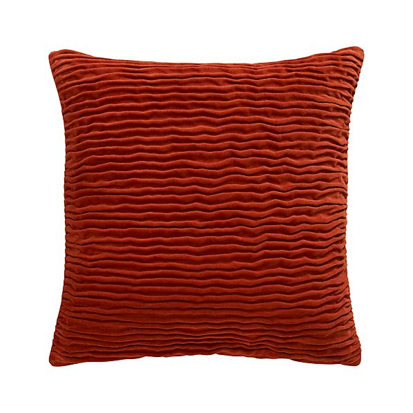 "Lyra Cayenne 20"" Pillow"