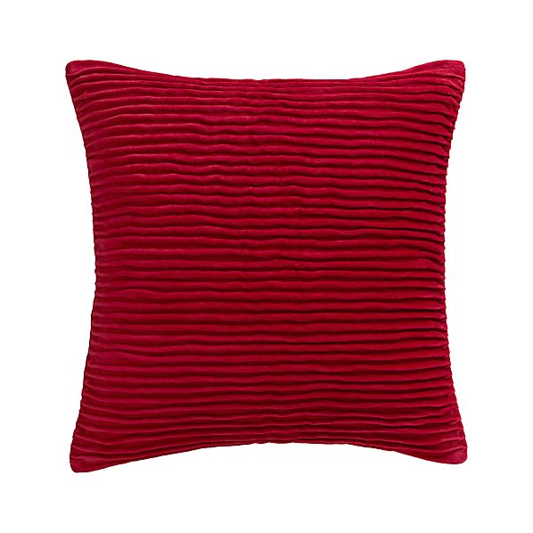 "Lyra Red 20"" Pillow"