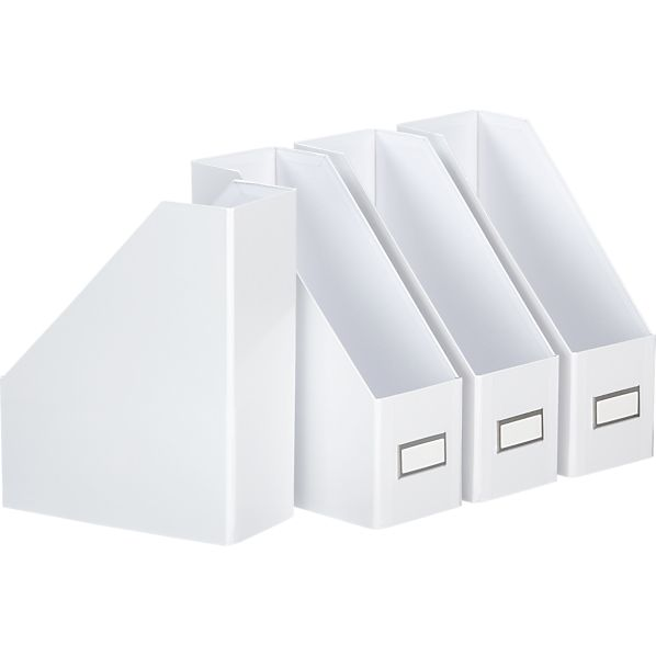 Set of 4 Magazine Files