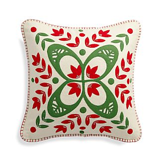 "Magi 20"" Pillow with Feather Insert"