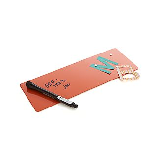 three by three ® Orange Magnetic Dry-Erase Board