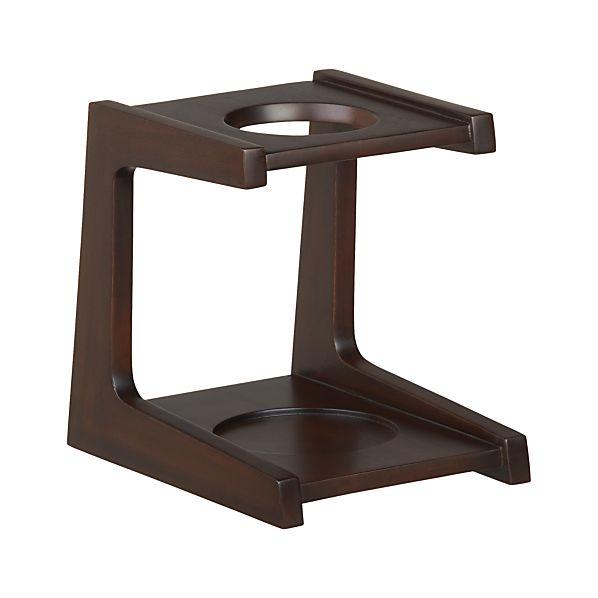 Mahogany Coffee Drip Stand