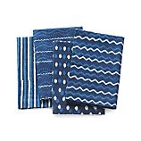 Set of 4 Makena Indigo Dinner Napkins