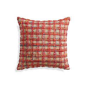 "Malla 18"" Pillow with Down-Alternative Insert"