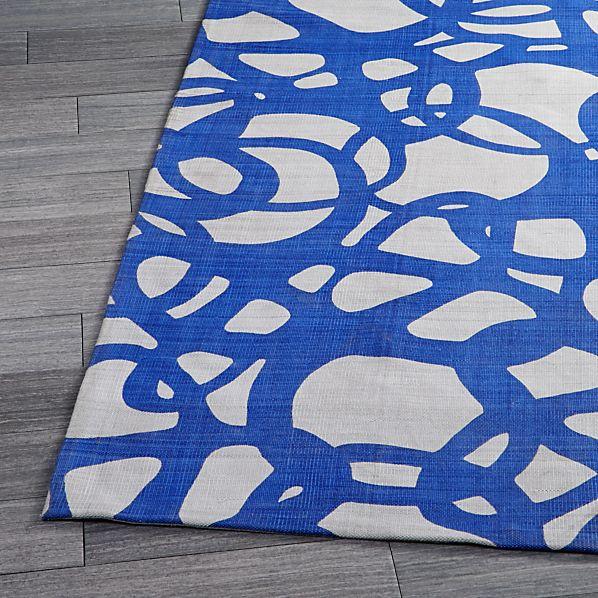 Mallorca Blue Rug