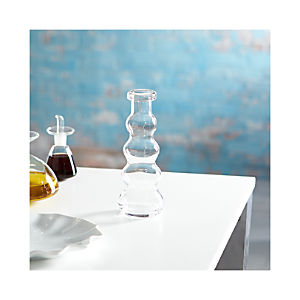 Mallorca Short Glass Vase