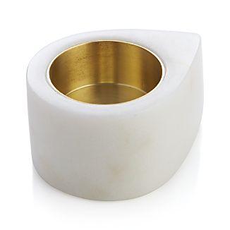 Marble Teardrop Candleholder