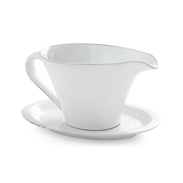 Marbury Gravy Boat with Saucer