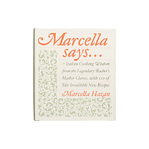 Marcella Says Cookbook