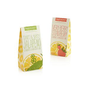 Urban Accents Very Berry Strawberry and Tart & Spicy Jalapeño Lemonade & Margarita Mixes