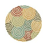 Mariah Multi 6&#39; Round Rug
