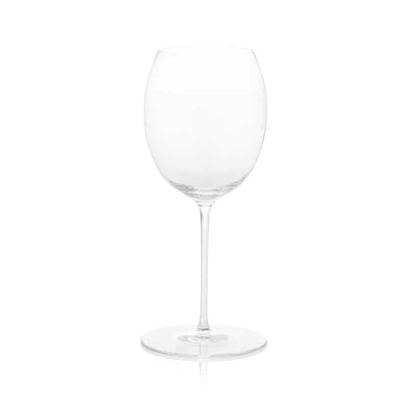 With its round, generously proportioned bowl and slightly tapered top, our Marika glass puts the focus on the fruity bouquets of a wide range of red wines with lots of room for the wine to breathe and develop. Created exclusively for us at Rona, the oldest existing Slovakian glass factory founded in 1892, this handcrafted glass pleases the eye as much as the palate.<br /><br /><NEWTAG/><ul><li>Handcrafted</li><li>Glass</li><li>Hand wash; cradle bowl when cleaning to avoid breakage</li><li>Made in Slovakia</li></ul>