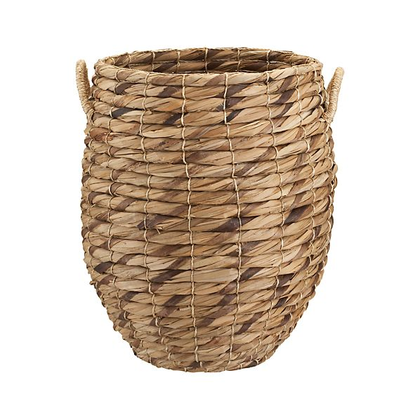 Marikit Tall Basket with Rope Handles