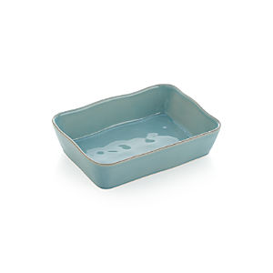 Marin Large Rectangular Blue Baker