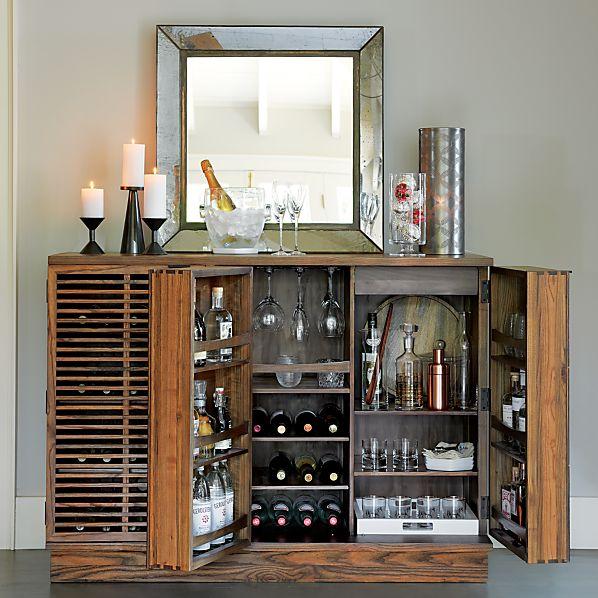 Marin Large Bar-Media Cabinet