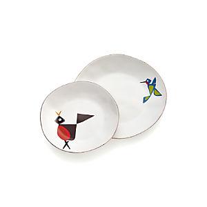 Marin Birds Plates