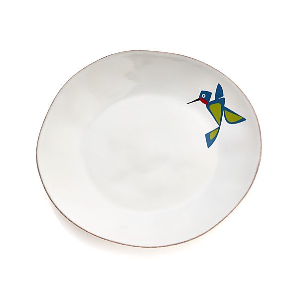 MarinBirdsDinnerPlateS14