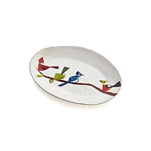 Marin Birds Platter