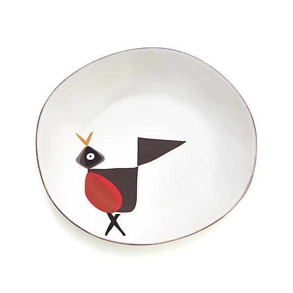 Marin Birds Salad Plate