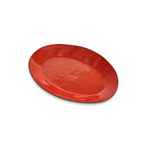 "Marin Orange 15.75"" Oval Platter"