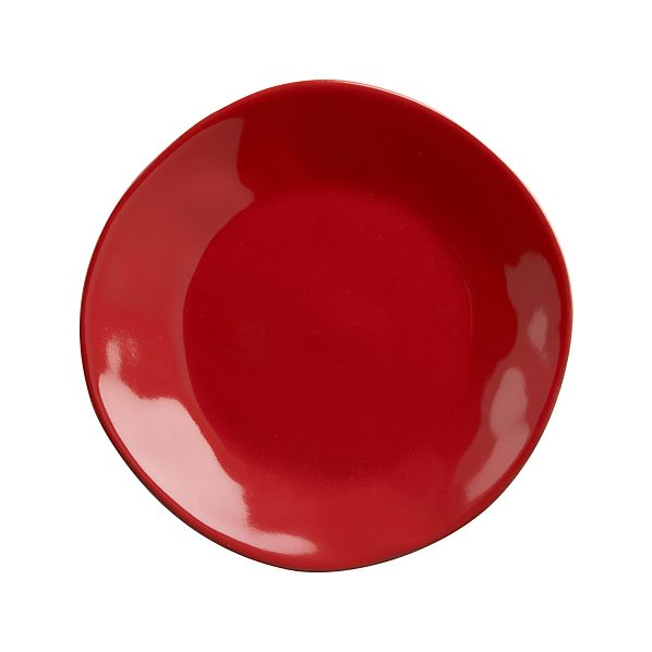 "Marin Red 8.25"" Salad Plate"
