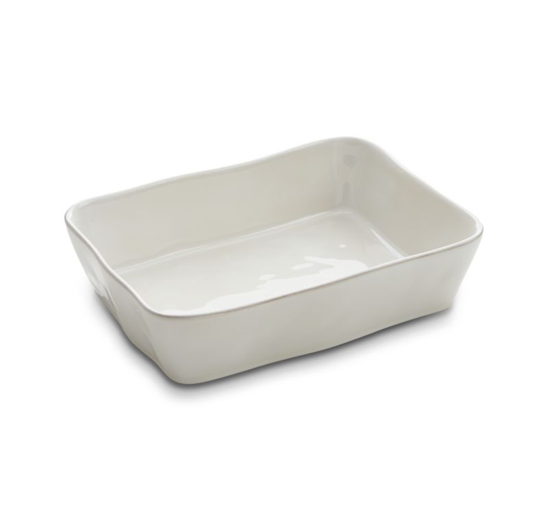 Marin Large Rectangular White Baker