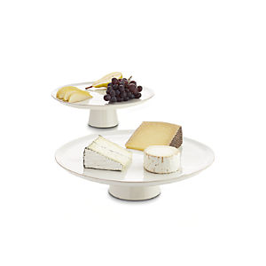 Marin White Cake Stands