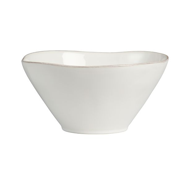 Marin White Serving Bowl