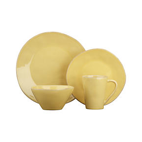 Marin Yellow Dinnerware