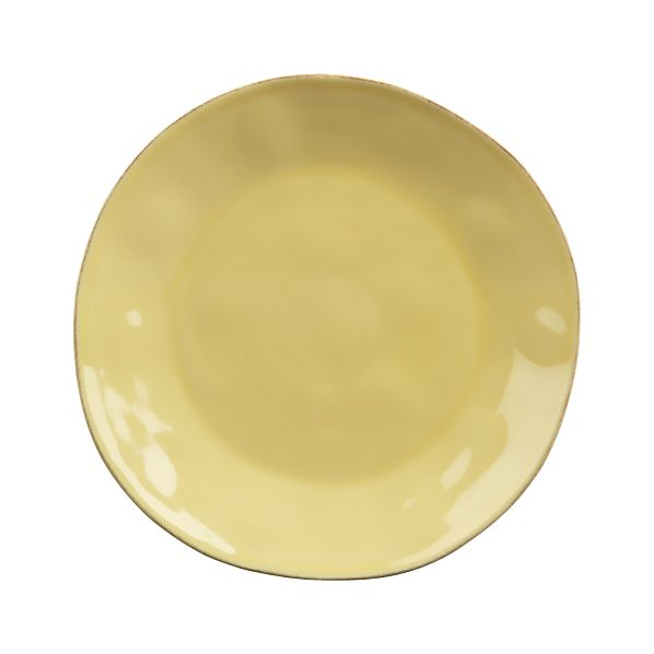 Marin Yellow Dinner Plate