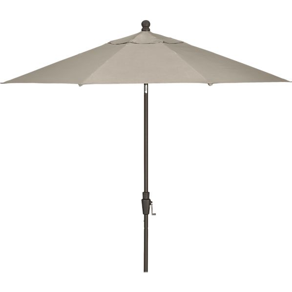 [TEMPLATE] 9' Round Sunbrella® Umbrella with Bronze Frame