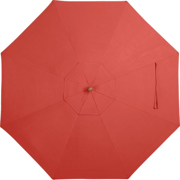 9' Round Sunbrella® Paprika Umbrella Cover
