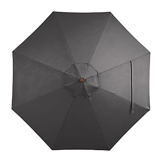 9' Round Sunbrella ® Charcoal Umbrella Cover