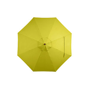 9' Round Sunbrella® Sulfur Umbrella Cover