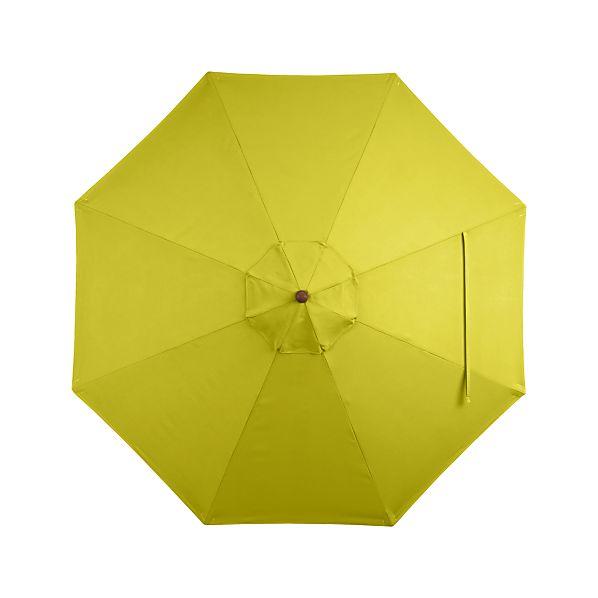 9' Round Sunbrella ® Sulfur Umbrella Cover