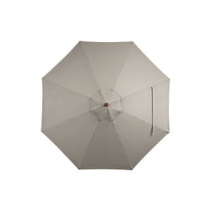 9' Round Sunbrella® Stone Umbrella Cover