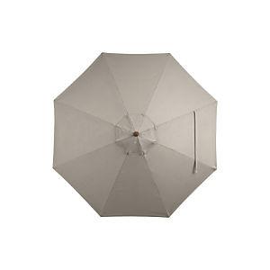 9' Round Sunbrella ® Stone Umbrella Cover