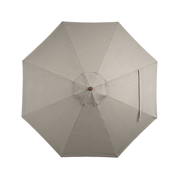 9' Round Sunbrella ® Stone Umbrella Cover