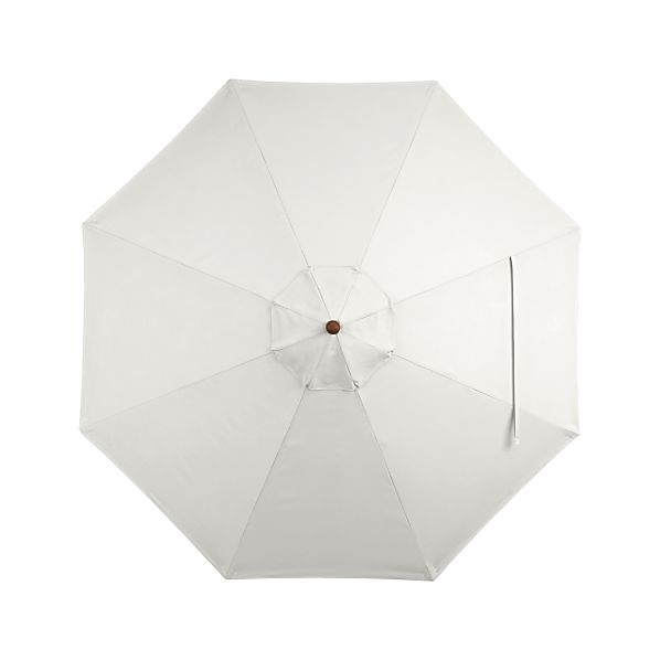 9' Round Sunbrella ® White Sand Umbrella Cover