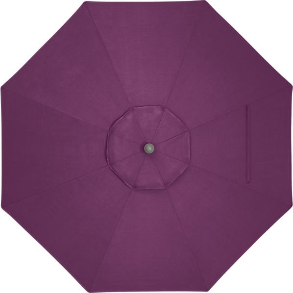9' Round Sunbrella® Phlox Umbrella Cover