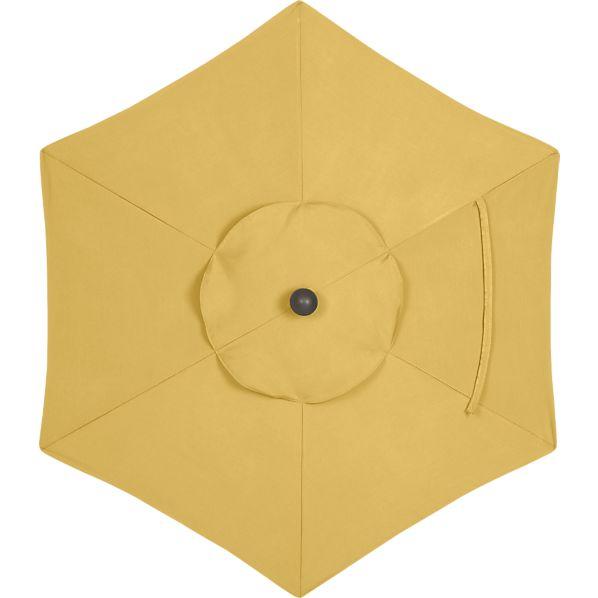 6' Round Sunbrella ® Daffodil Umbrella Cover