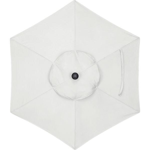 6' Round Sunbrella ® Eggshell Umbrella Cover