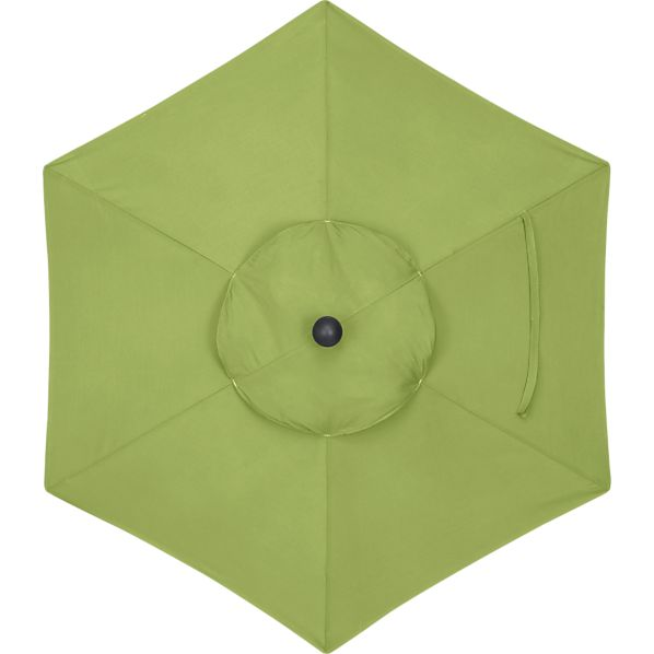 6' Round Sunbrella® Kiwi Umbrella Cover