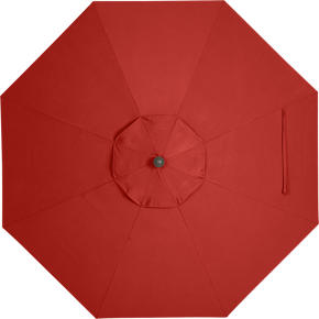 9 Round Sunbrella® Caliente Umbrella Cover