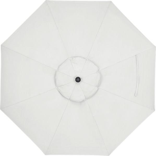 9' Round Sunbrella® Eggshell Umbrella Cover