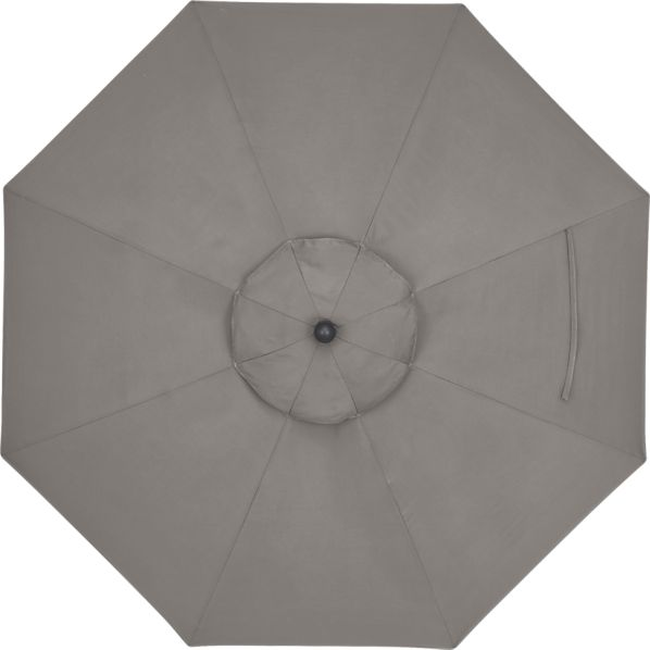 9' Round Sunbrella ® Graphite Umbrella Cover