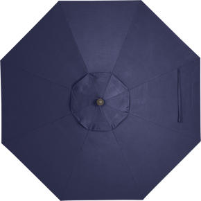 9 Round Sunbrella® Indigo Umbrella Cover